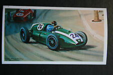Cooper  Jack Brabham  1959 Monaco GP #  Motor Racing Illustrated Card VGC