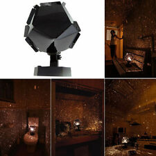 DIY Romantic Astro Star Projector Cosmos Light Night Sky Lamp + Power Adapter