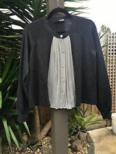 moschino Love Blouse Top Made In Italy Size 14/ 46