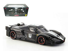 FERRARI ENZO FXX ELITE BLACK #28 LTD 1/43 DIECAST MODEL CAR BY HOTWHEELS N5608