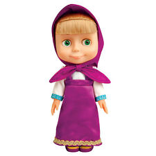 MASHA AND THE BEAR i Medved RUSSIAN CARTOON CHARACTER DOLL 100 phrases 4 songs!