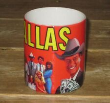 Dallas TV Show with JR Ewing Great Red MUG