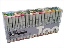 Copic Sketch Marker Set - 72 Plumas-conjunto C