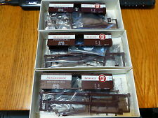 Railroad Hobbies/Walthers #1012-2 PRR (3Pack)40' Steel BoxCar Merchandise Servic
