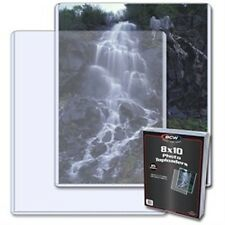 """Toploader 8""""x10"""" Photo Holder 25 Count Pack [NEW] Case Top Loader PIcture BCW"""