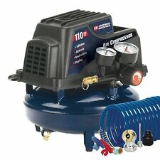 Campbell Hausfeld FP2028 1-Gallon Oil-Free Pancake Air Compressor with Accessory