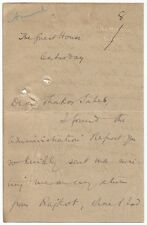 Irish Presbyterian Mission Rajkot Gujarat India 1917 J Stevenson signed letters