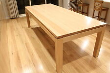 Local Made Solid Tasmanian Oak Hardwood Timber Veromont Dining Table 1800w