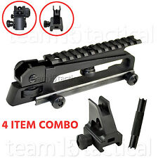 Detachable Carry Handle Dual A2 Rear Sight+Top Mount+Front Iron Sight Post+Tool