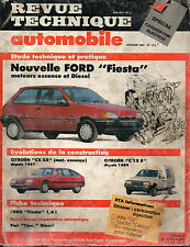 RTA revue technique automobile n° 512 FORD FIESTA ESSENCE & DIESEL