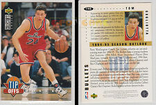NBA UPPER DECK 1994 COLLECTOR'S CHOICE - Tom Gugliotta #192 - Ita/Eng - MINT