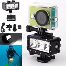Underwater Waterproof Diving Night Video LED Light for GoPro Hero 1 2 3 3+ 4