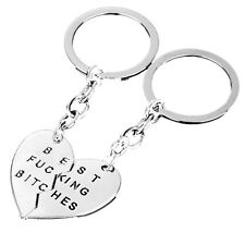 Charm Pendant Keyring.Keyfob Keychains Gifts New Party Best Friends Best Bitches