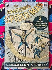 The Amazing Spider-Man #1 (Marvel, 1963) VG-  Signed Stan Lee 1989 No Resto  Wow