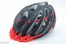 Catlike Vacuum Matte Black/Red Cycling Road Bike Helmet Medium 55-57cm