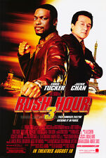 Rush Hour 3 Version B Original Movie Poster Double Sided 27x40 inches