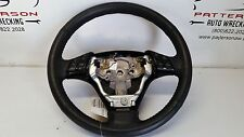 2008 MAZDA 3 Leather Steering Wheel w/Accessory & Cruise Controls