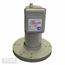 C-Band LNB LNBF DMS BSC421 C Band Single Digital Satellite HDTV FTA 13K 65db