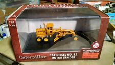Norscot Caterpillar Number 12 motor grader HO Cat Diecast Model 1/87 scale