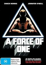 A Force Of One (DVD, 2012) REGION 4 PAL - NEW SEALED ................... LOC3