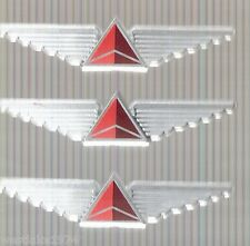 3 New  Delta Airlines  Plastic Wing Pins