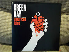 GREEN DAY - AMERICAN IDIOT 2LP BLACK VINYL 2009 REPRISE REMASTERED NEVER PLAYED