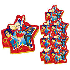 DC SUPER HERO GIRLS MINI NOTEPADS (8) ~ Birthday Party Supplies Favors Notebooks