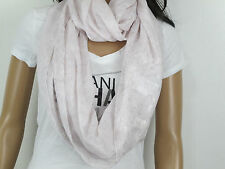 NWT Abercrombie & Fitch Women Betty Girl PINK SHINE Shimmering Scarf ONE SIZE
