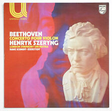 HENRYK SZERYNG Beethoven violin concerto Op.61 french philips 6580004 STEREO LP