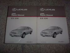 2005 Lexus ES330 ES 330 Workshop Shop Service Repair Manual Set Vol. 1-2