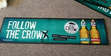 1 x  Dead Crow Rubber backed bar runners (new)