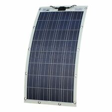 130W Semi-flexible Solar Panel for Motorhome,Camper,Boat w/t Eyelets Discounted
