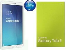 Nouveau Samsung Galaxy Tab E T561 9.6 pouces 8GB wi-fi + cellular Android tablette blanc