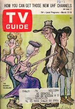 1966 TV Guide March 12-I Dream of Jeannie;Beverly Hillbillies; Caprice Yeudleman