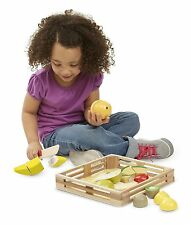 Autism Sensory Tactile Wooden Toys Cutting Fruit Sensory Educational Games SEN
