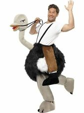 Deluxe Adult Ostrich Costume Animal Bernie Clifton Funny Fancy Dress
