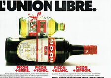PUBLICITE ADVERTISING 1016  1978  Picon bière kronenbourg (2p) union libre