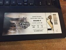 2016 PITTSBURGH PENGUINS SAN JOSE SHARKS TICKET STUB STANLEY CUP FINALS GAME 1