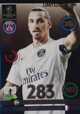 Adrenalyn xl champions league 2014/15 limited edition Carte zlatan ibrahimovic