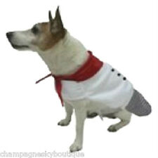 NWT Size X-Small  * 1-PIECE CHEF *  Dog Halloween Costume XS