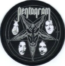 PENTAGRAM (USA) - Baphomet Logo - Woven Patch / Aufnäher