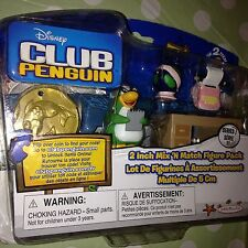 CLUB PENGUIN-MIX 'n Match figura Pack-AUNT ARTIC Con Escritorio Nuevo