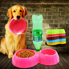 Wholesale New Hot  Pet Dog Puppy Cat Automatic Water Dispenser Food Dish Bowl