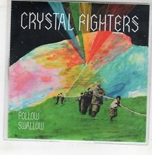 (GX699) Crystal Fighters, Follow / Swallow - 2010 DJ CD