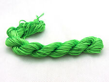 New 28M/roll(1mm)Chinese Knotting Nylon Thread Cord Wire Beading Bracelet X6