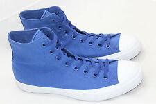 All Star Chuck Taylor Converse Blue Lace Up High Top Men 12 Textile Unisex