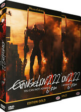 ★ Evangelion : 2.22 - You Can [Not] Advance ★ Le Film - Edition Gold - DVD