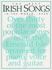 Best Irish Songs In the World Learn to Play Celtic PIANO Guitar PVG Music Book