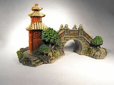 AQUARIUM ORNAMENT , JAPANESE BRIDGE ORNAMENT , AQUARIUM DECORATION ORIENTAL