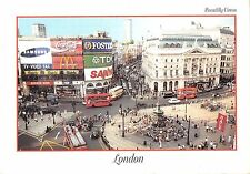 BR90683 london piccadilly samsung  donalds sanyo coca cola double decker bus uk